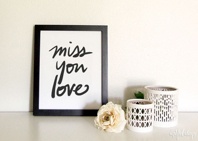 photograph relating to Free Printable Miss You Cards titled Miss out on Yourself Appreciate\