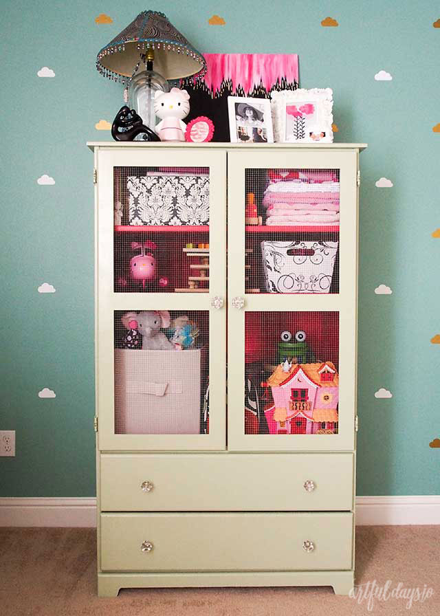 Armoire makeover diy