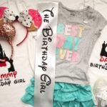 Disney family birthday outfits