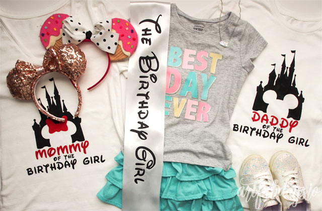 Disney family birthday outfits
