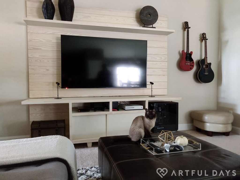 Entertainment center artfuldays