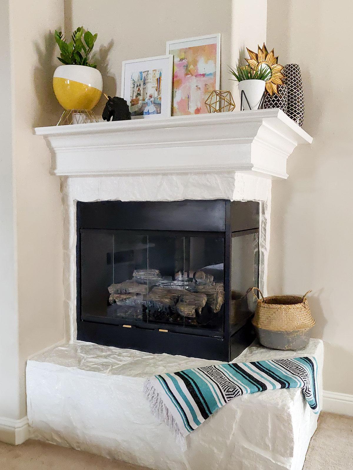 Cover artfuldays fireplace redo