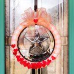Artfuldays valentine confetti wreath
