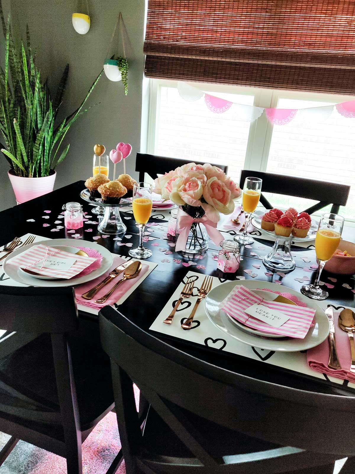 Artfuldays valentines day table