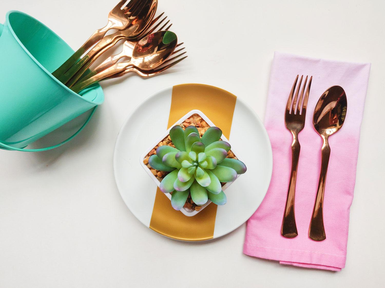 Artfuldays craft ombre napkin