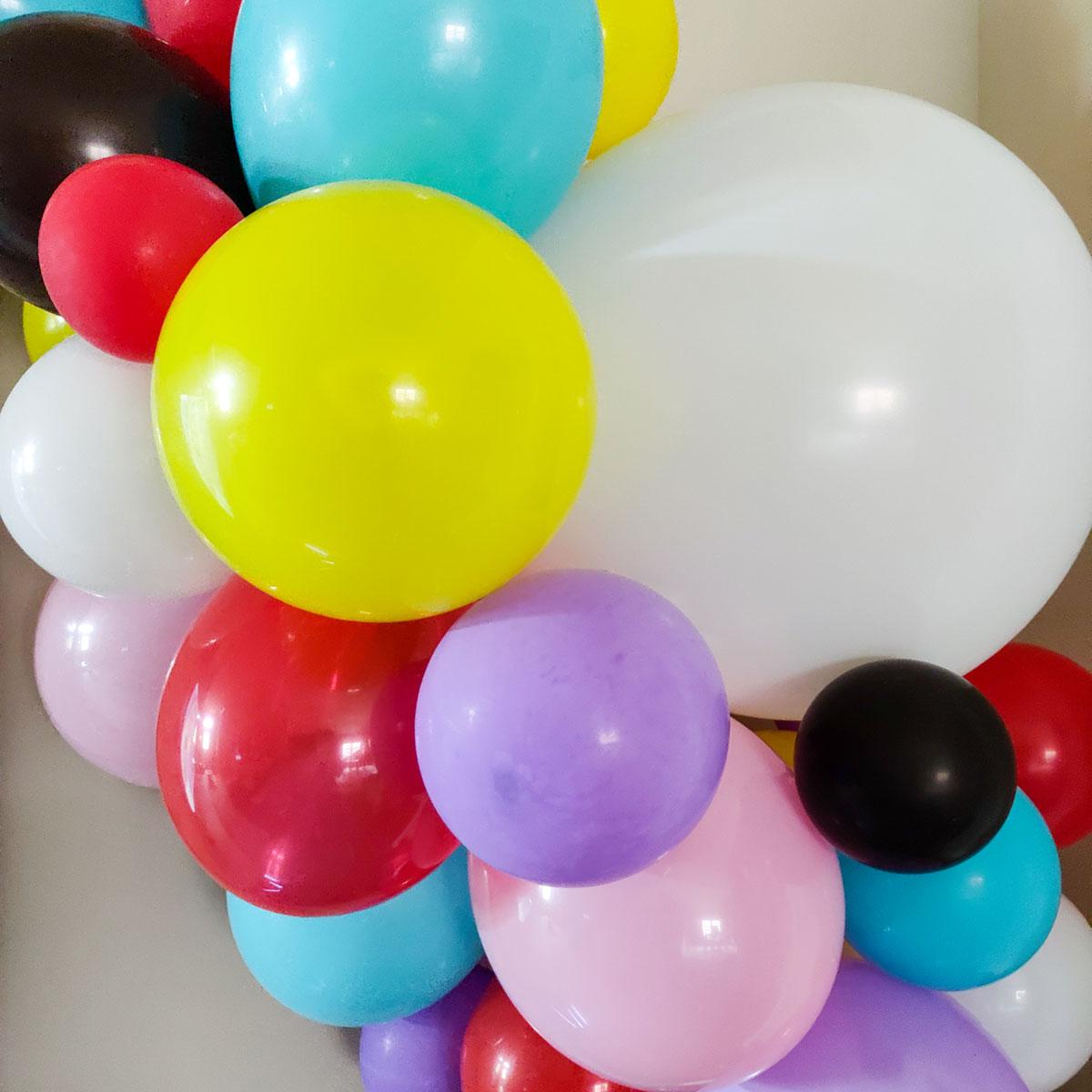 Bt21 party balloon garland artfuldays