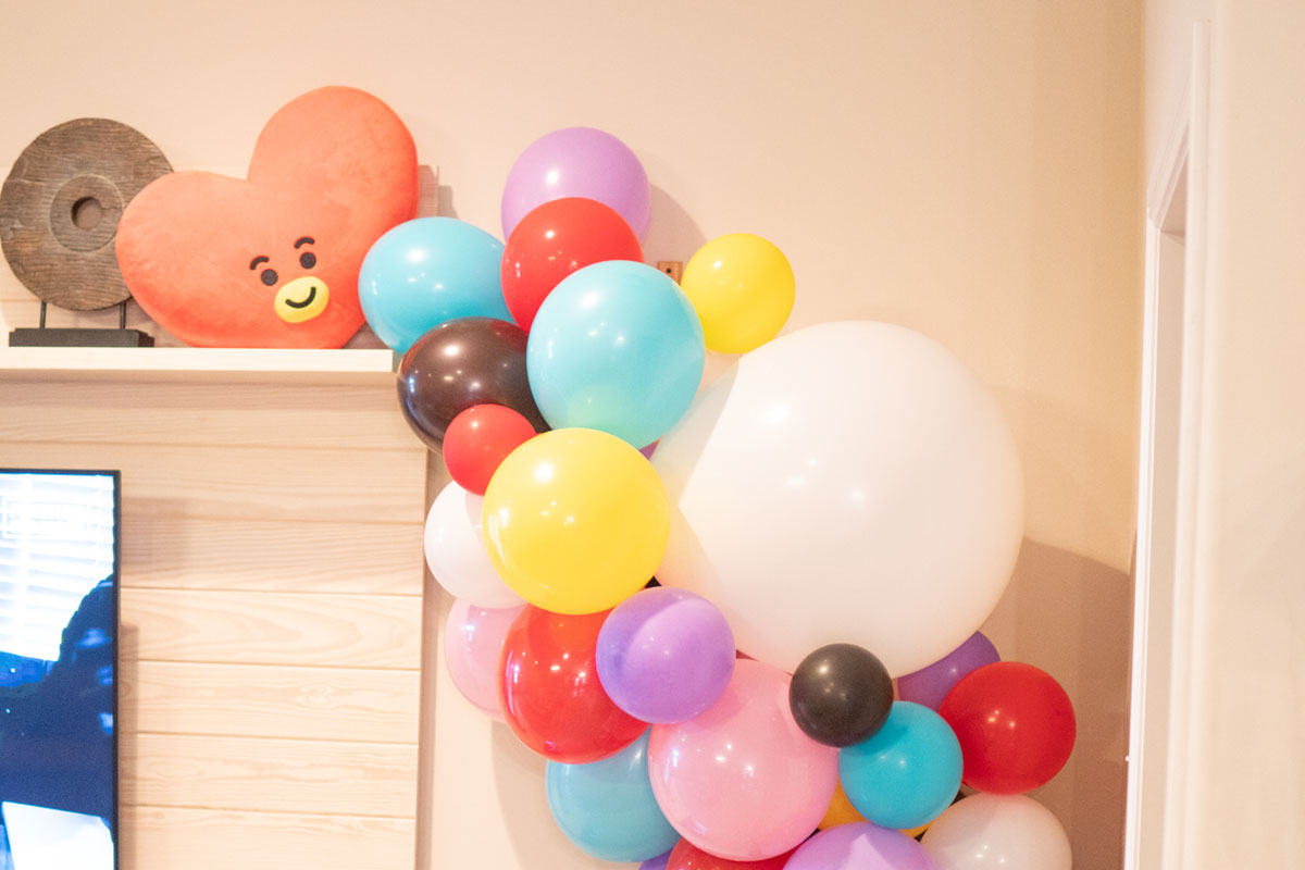 Artfuldays bts bt21 party 11