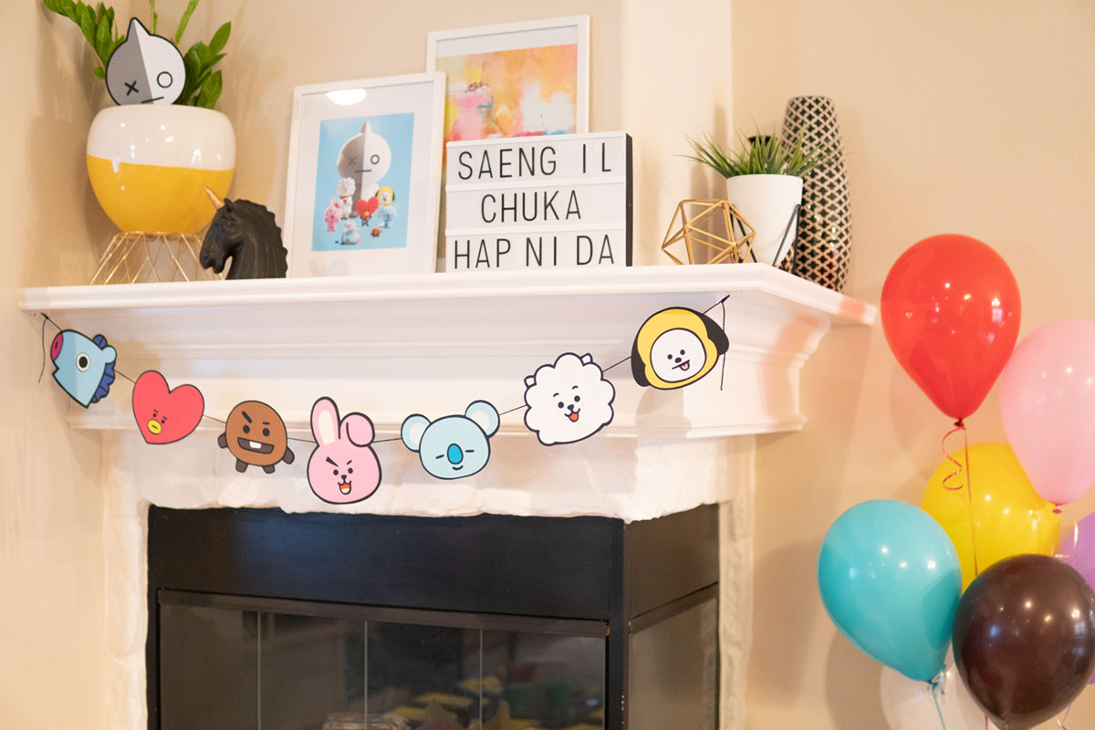 Artfuldays bts bt21 party 13
