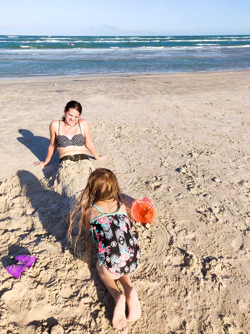 Corpus christi beach mermaids