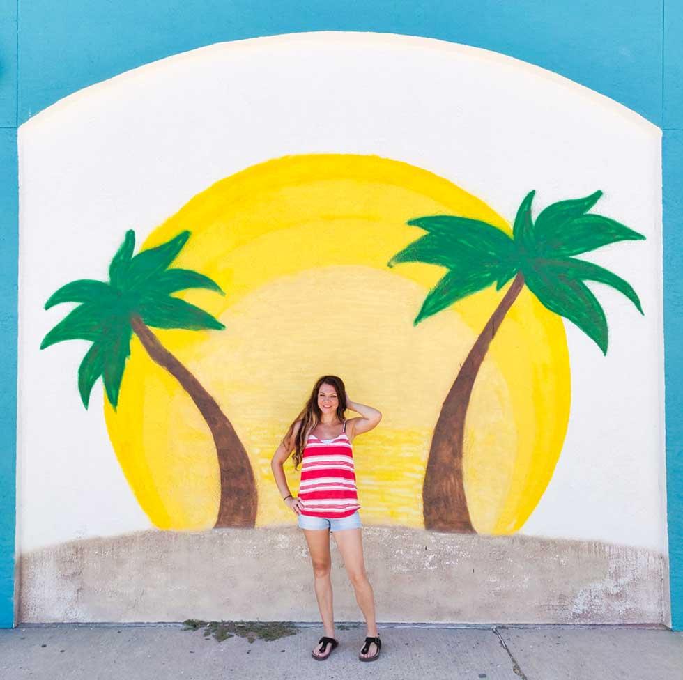 Corpus la isla mural