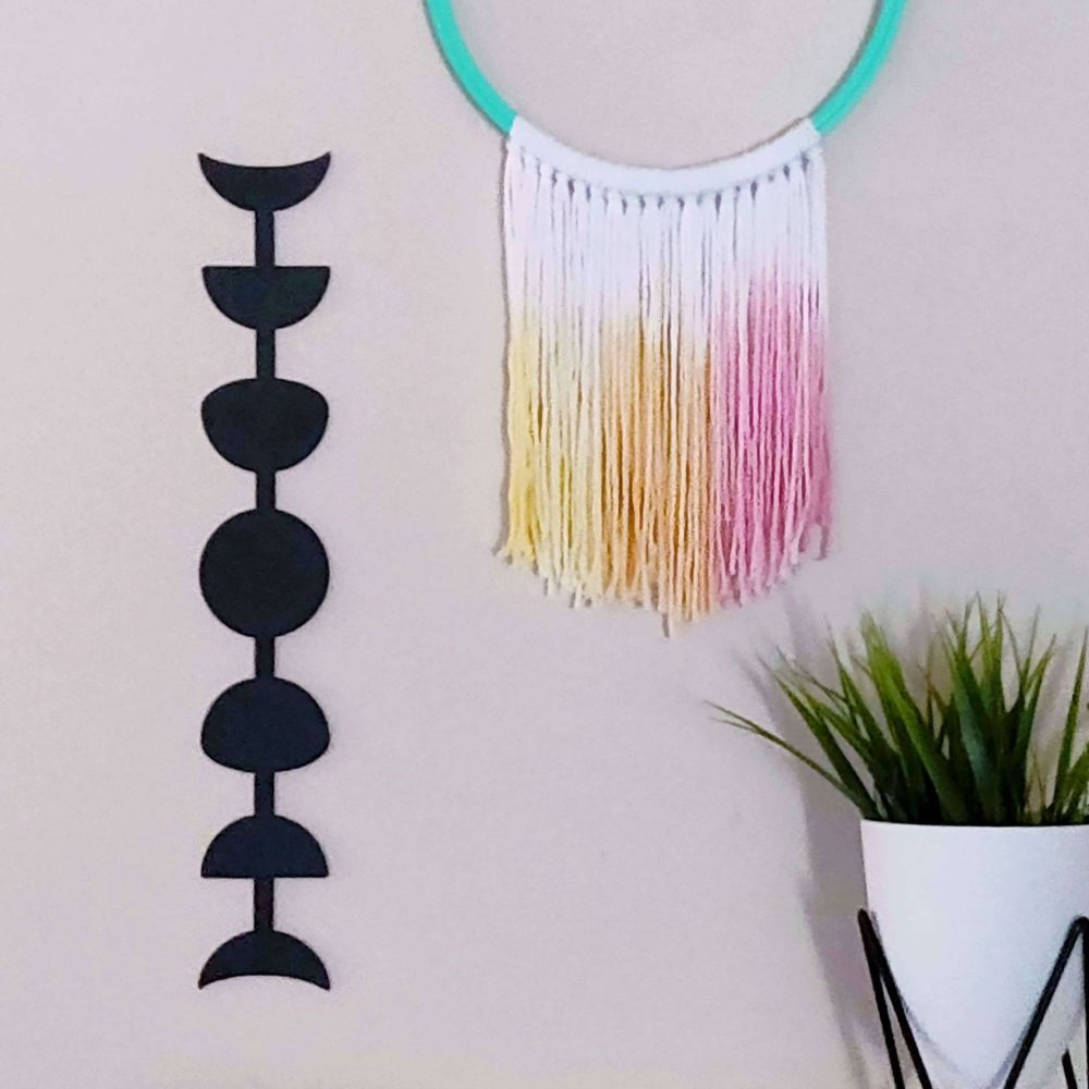 Luna Moons Metal Decor