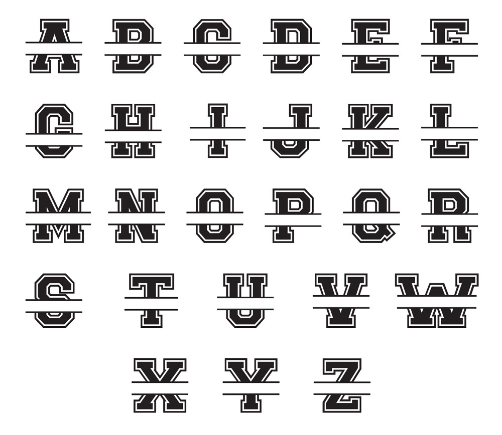 sport letter variations